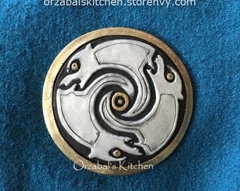 Merida Brave Bear Medallion for Belts