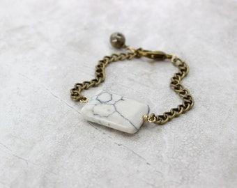 SALE 20% OFF - Marble Stone Bracelet