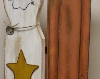 Ghost and Pumpkin Hinged Panels -  Made To Order, Decorative Shutters, Halloween Decor