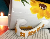 Hand Painted Mug - Sunflower Mug - Gift Idea