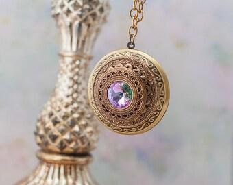 Air Elemental Locket Necklace