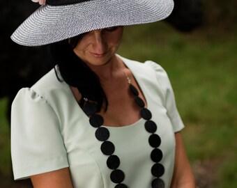 Necklace XL 'Noir désir'