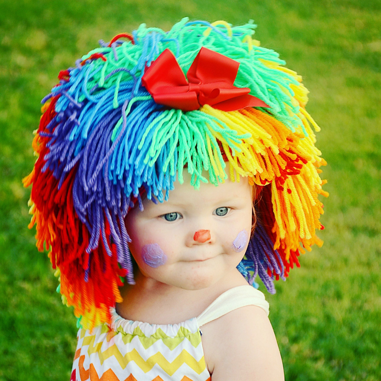 Clown Costume Halloween Costumes Baby Hat Baby Girl Clown Wig