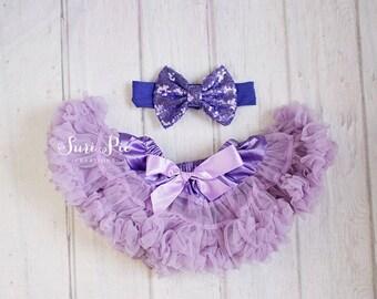 newborn clothing..Lavender Petti Skirt..newborn photography prop..newborn outfit..baby girl clothing
