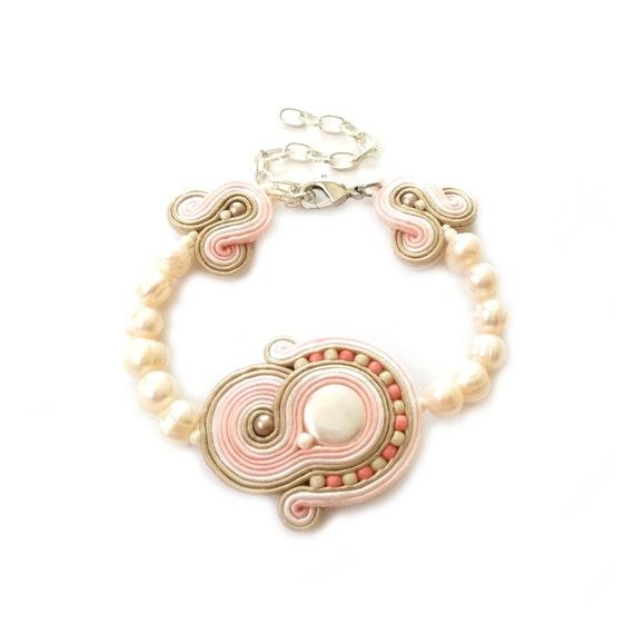 Items Similar To Soutache Bracelet