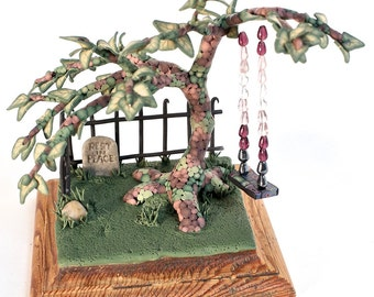 Tree in a Graveyard (and a swing)