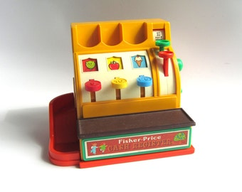 Vintage Fisher Price Cash Register