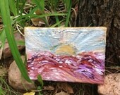 Sun Burst Original Painting FREE SHIPPING