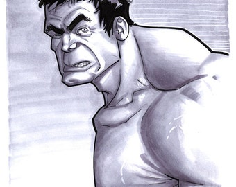 Convention Sketch 29 Hulk