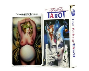 The Rohrig Tarot Card Fortune Telling Set Printed in Belgium Adults Only 1995 Bluestar