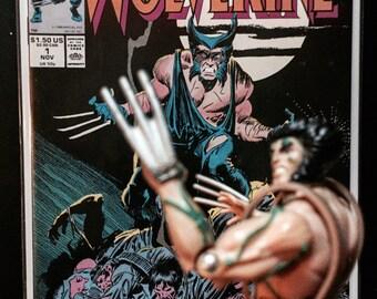 Vintage Comic Books, NM 1988 Wolverine #1, X-Men, Antique Alchemy