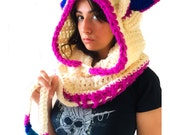 Fairy Sylveon Eeveelution Hooded Cowl