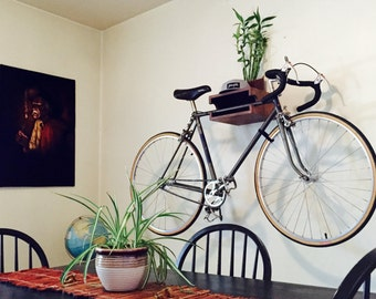 The WC Bike Shelf // Bike Rack // Reclaimed Wood