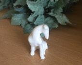 Greyhound or Whippet  Ceramic figurines Handmade