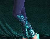 Forest lake - Printed leggings / Womens leggings