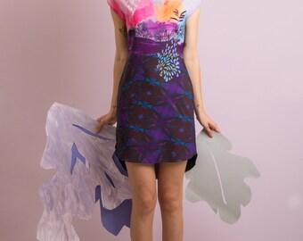 Muse - Printed chiffon tunic / Womens tunic / Womens dress