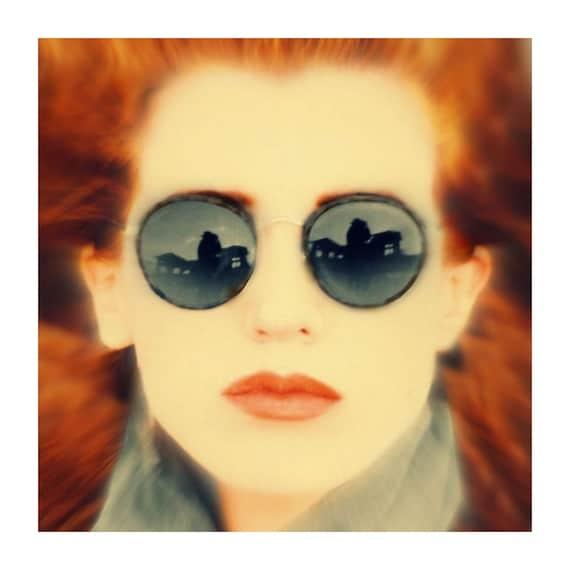020c45989c Vintage Gatsby Round Sunglasses   Gunmetal P3 Glasses   John Lennon Glasses    Gift Idea