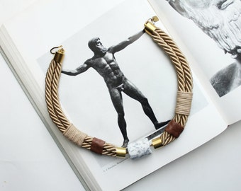 ATHOS rope necklace