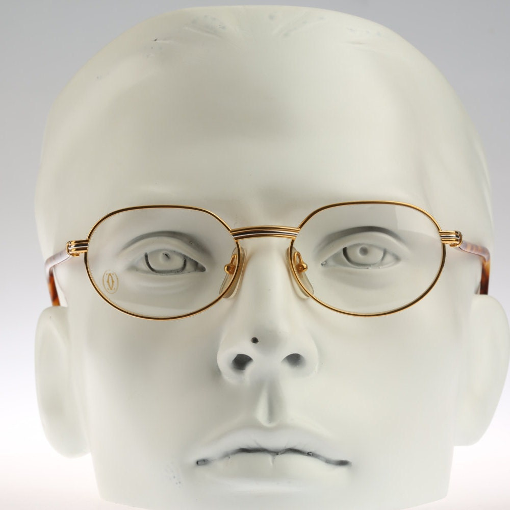 cartier lueur vintage eyeglasses nos 90 s by