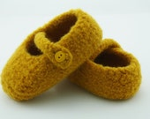Girls MADE TO ORDER felted wool slippers