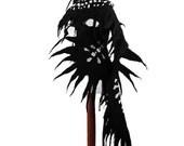 Felted Scarf Wings Scarf Gothic Surreal Gothic BLACK WINGS SCARF Shawl Nuno felt Scarves Felt  Wrap Nuno felt wearable art Silk  Fiber Art