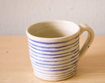 Nautical Striped Coffee Mug