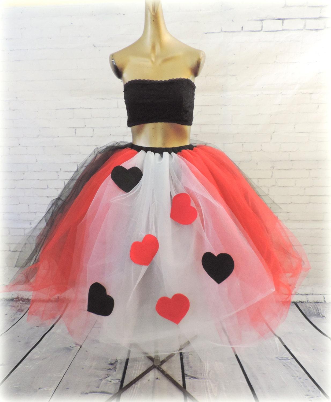 Adult tutu costume queen of hearts adult tutu dress