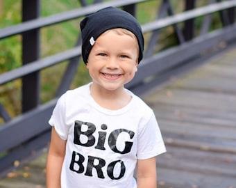Baby Slouchy Beanie/Black Beanie/Toddler Beanie/Baby Beanie/Boys Slouchy Beanie/Slouchy Beanie/Hipster Beanie/Infant Knit Hat