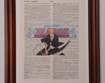 Bleach Dictionary Art Print