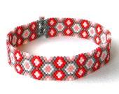 Thin Beaded Bracelet