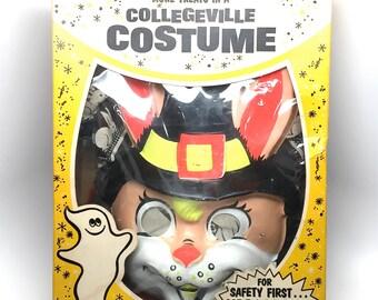 Halloween Costume, Collegeville, Creepy Rabbit, 2 piece, F-21, Box, Halloween Decor, 1960s