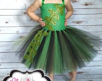Ivy tutu dress with mask | Super hero tutu dress| newborn-Child size 10 listing