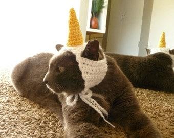 Unicorn Cat Costume for Cat Hat Cat Clothes Cat Outfit Pet Costume Pet Hat Pet Clothes Pet Outfit Unicorn Hat for Cat Hats Cat Lady Kitty