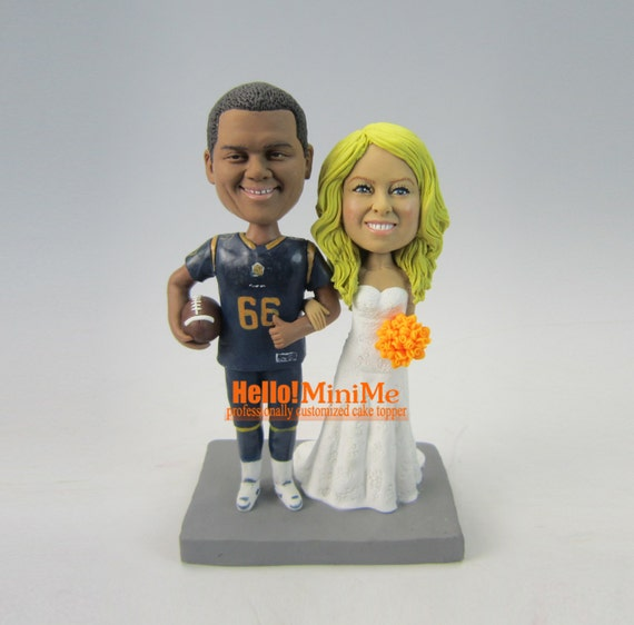 bobblehead wedding cake toppers personalized wedding cake topper bobblehead custom cake topper wedding 12068