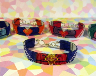 Sailor Moon / Inner Scouts Beaded Bracelet