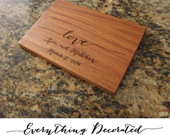 "Cutting Board, Personalized Cutting Board, Engraved Cutting Board, Personalized Engraved CuttingBoard, Custom Cutting Board - 12"" x 8"""