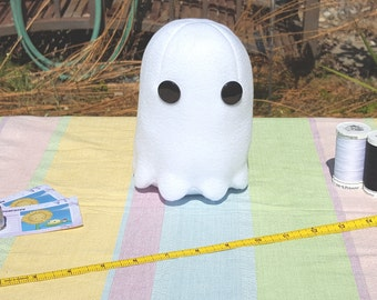 Terrifyingly Adorable Hand Sewn Ghost