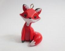 Polymer Clay Fox Charm