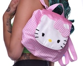 vintage pink hello kitty backpack