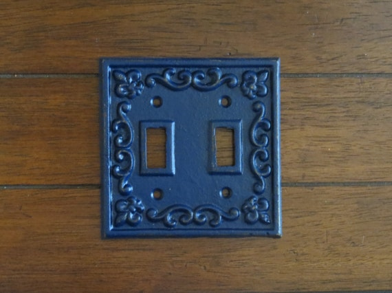 Light Switch Plate Cover Shabby Chic Cast Iron Switch Cover