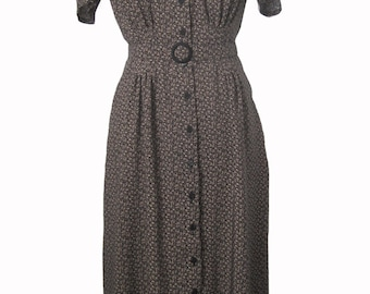 40s Blouse dress
