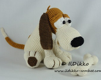 Amigurumi Crochet Pattern - Butch the Basset