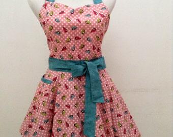 Cute apron sweetheart apron flirty apron  Kitchen apron FREE SHIPPING