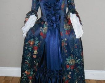 Eighteenth Century Brocade Gown