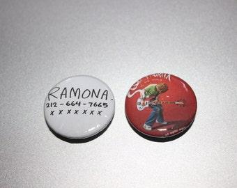 Scott Pilgrim buttons