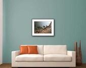 Beach Photo Print, Beach Wall Decor Print, Coastal Decor, Brown, Blue, Home Decor Print, Water Photo Print