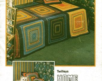 Vintage Crochet Throw Pattern