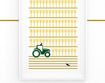 Plentiful Harvest - Digital Print