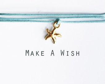 Make A Wish Starfish Bracelet