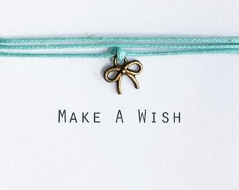 Make A Wish Bow Bracelet